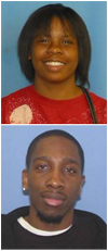 Seeking information regarding the homicides of Keyshawna Y. Waits and Grover D. Barefield